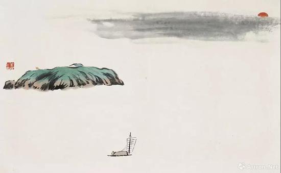 齐白石山水画的作伪与鉴别