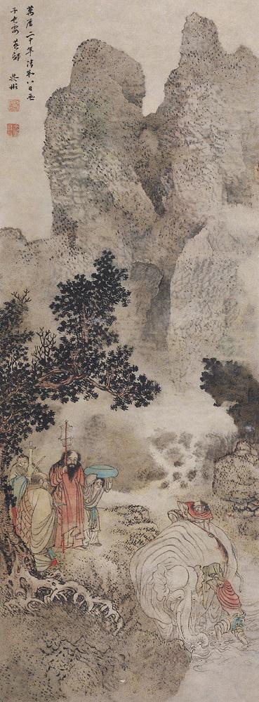 中央美术学院美术馆馆藏古代人物与山水画的研究