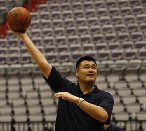 姚明回应韩国男篮:运气是留给有做好准备的人的