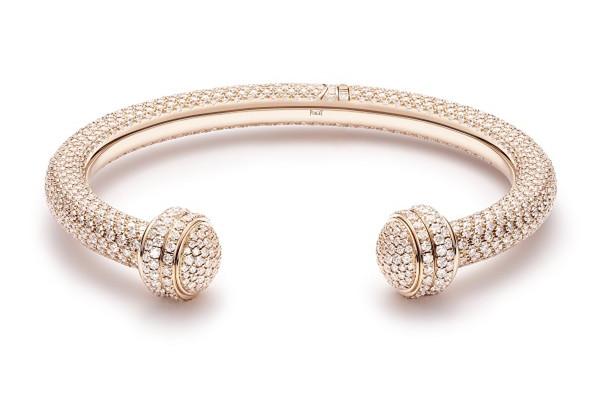 Piaget推出全新限量版Possession粉色欧泊石项链