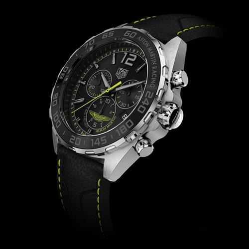 泰格豪雅表推出Formula 1系列阿斯顿·马丁腕表