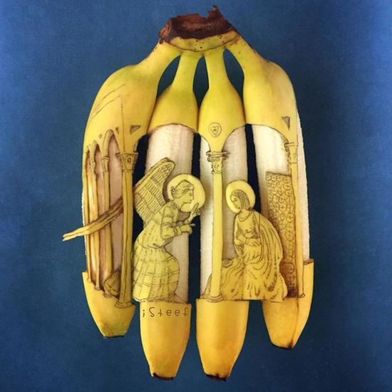 Stephan Brusche:致力于香蕉艺术创作