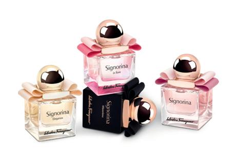 菲拉格慕推出全新Signorina伊人迷你系列香水