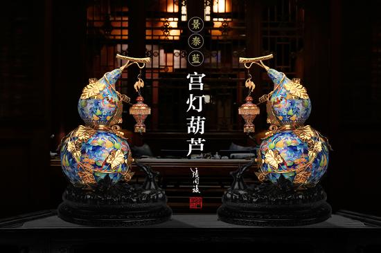 《宫灯葫芦》景泰蓝惊艳亮相018年中非合作论坛北京峰会