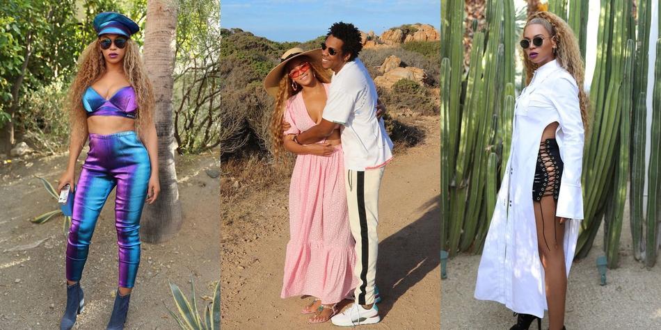 碧昂斯发文庆生 与Jay Z重温结婚誓言