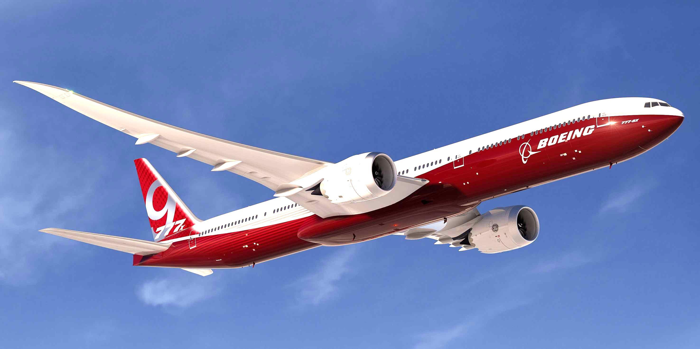 波音777x私人飞机首架测试机今日下线