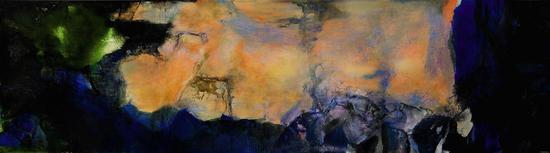 赵无极油画作品《1985年6月至10月》即将现身苏富比秋拍