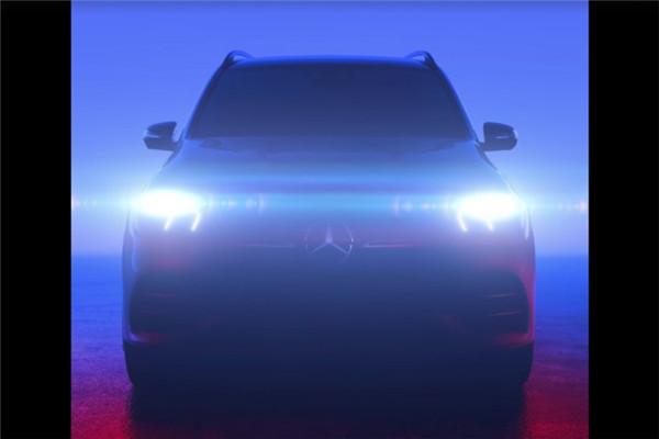 奔驰官方发布全新GLE预告图 10月份巴黎车首发