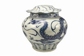 专家认证荷叶形盖罐是酒具 兼具储器和盛器功能