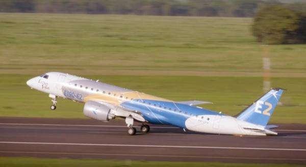 威德罗航空首架巴航工业E190-E2私人飞机交付