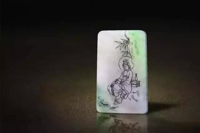 翡翠作品展现是一种艺术文化传承和弘扬 是一位玉雕师的匠人精神