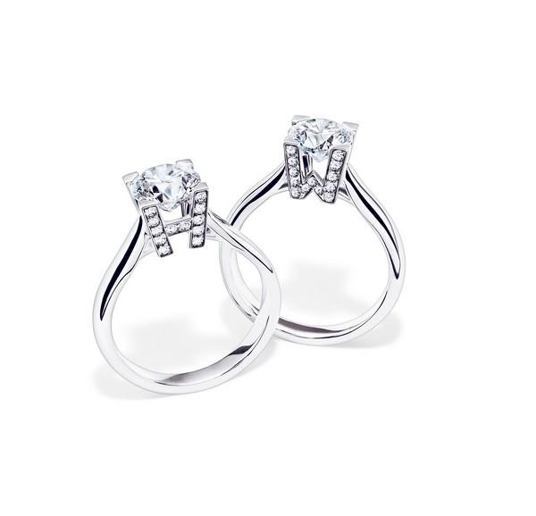 海瑞温斯顿婚嫁珠宝钻戒系列 守护每一段至臻情感