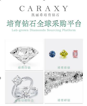 凯丽希推出首个培育钻石全球采购平台