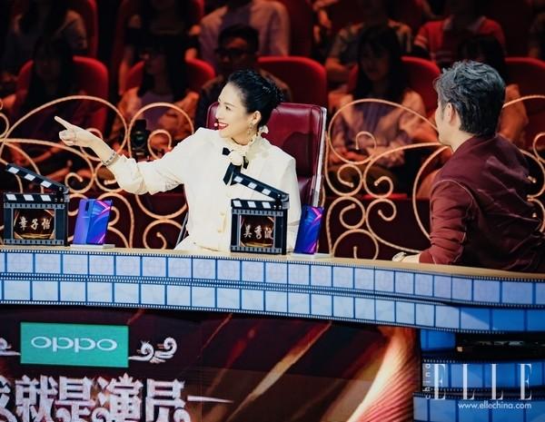 章子怡佩戴布契拉提珠宝现身《我就是演员》节目录制现场