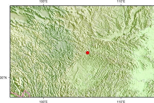 陕西汉中发生5.3级地震 震源深度11千米