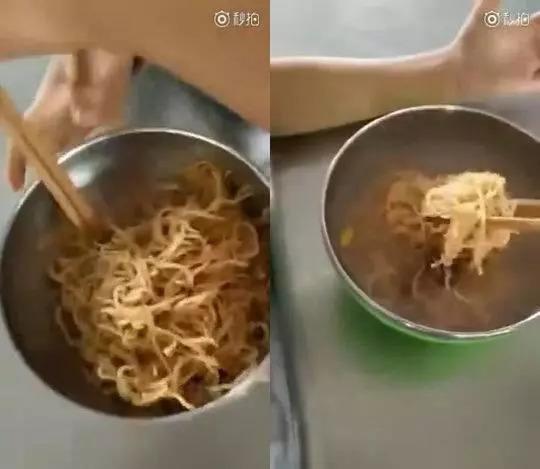 小学营养餐仅半碗面 官方称将确保补助吃进学生嘴里