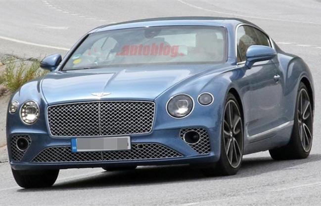 宾利全新欧陆GT插电混合动力版车型谍照曝光