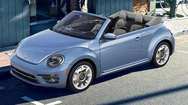大众名车品牌发布甲壳虫最终版车型官图
