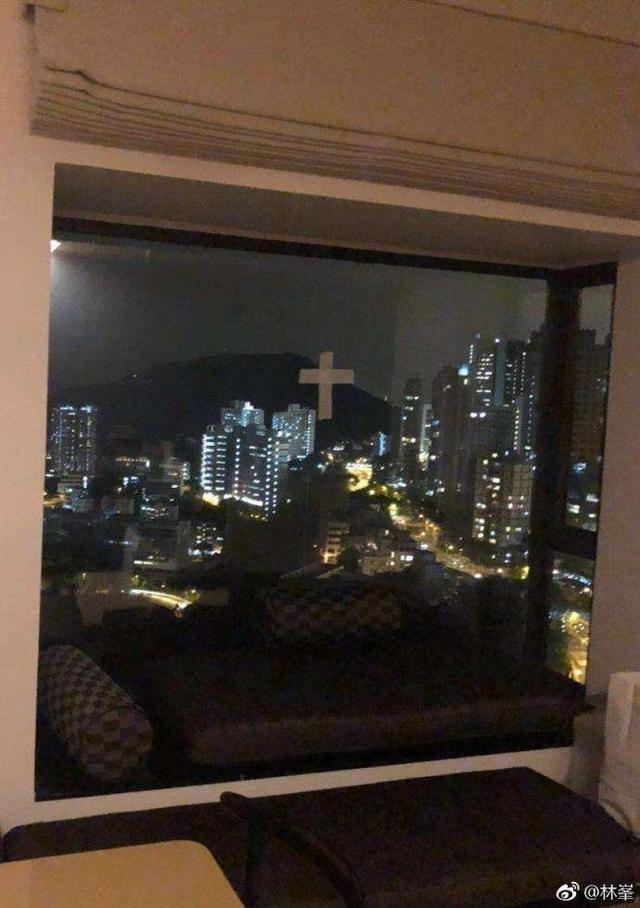 林峯家防台风的窗户亮了 网友们看后忍俊不禁
