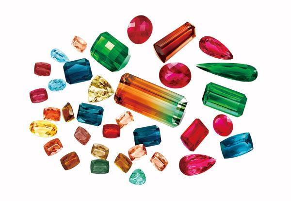 """""""落入凡间的彩虹""""  带你看看彩色宝石们的奥秘"""