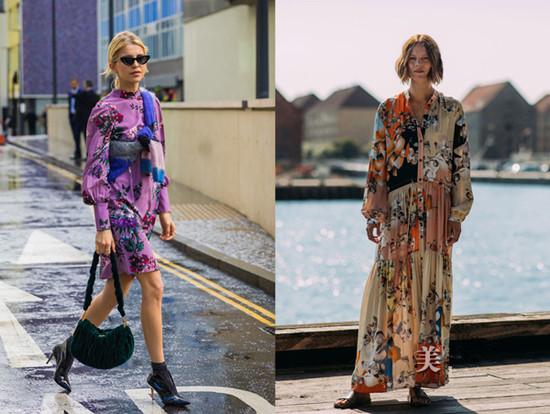 达人服装流行趋势示范 三款连衣裙经典不过时