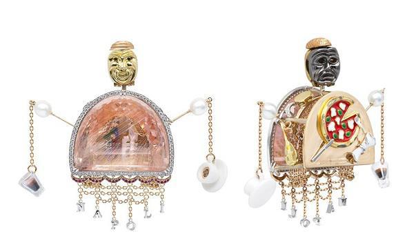 意大利珠宝设计师 Alessio Boschi 推出挂坠项链——「Bella Napoli」