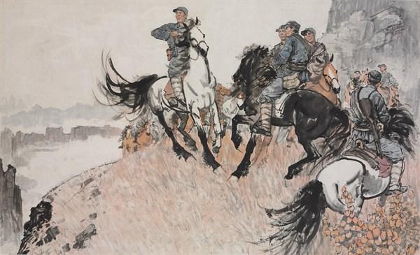 """""""自在·坚守""""刘勃舒何韵兰画展在国家画院美术馆开幕"""