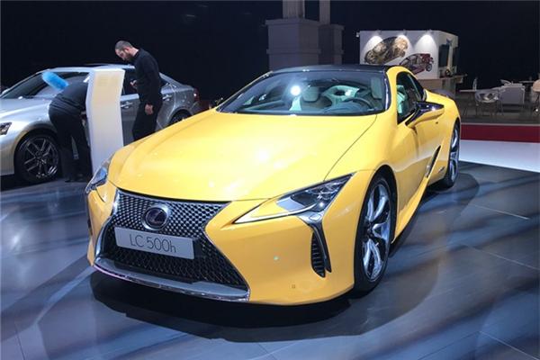 雷克萨斯发布LC黄色特别版车型 秋季正式交付用户