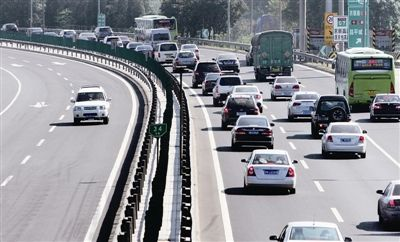 国庆长假过半 北京高速迎返程高峰