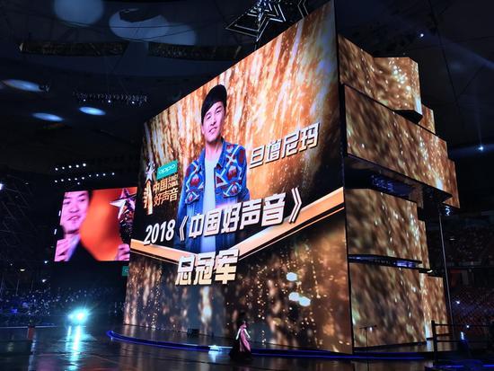 《中国好声音》总冠军出炉:李健学员旦增尼玛问鼎