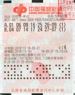 财神爷托梦 临沧一彩民喜中589万元大奖