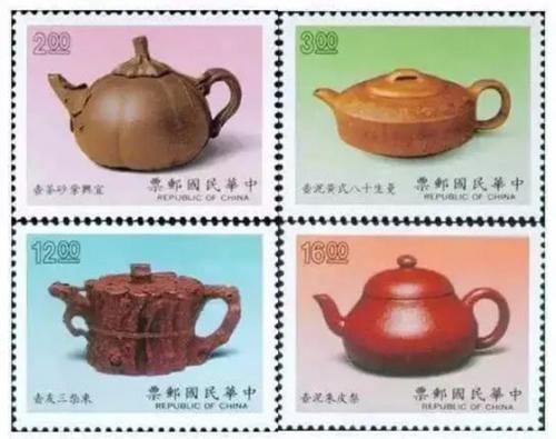 当紫砂遇上邮票 别是一番风采
