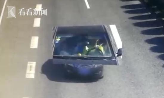 荒唐!高速犯困15岁儿子代驾30多公里