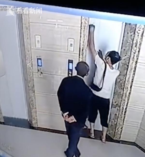 开电梯门岳父坠亡 一脚踩空掉进8米深的电梯井