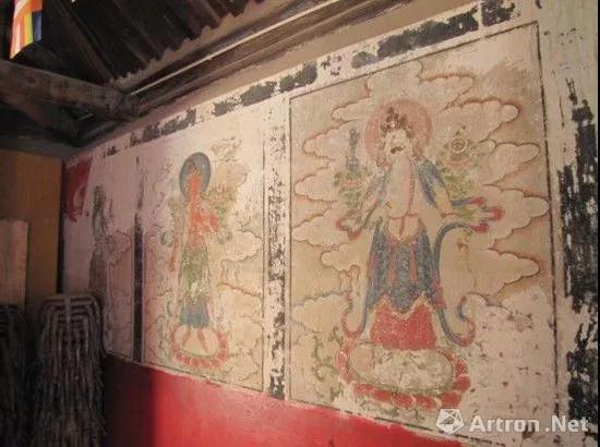 文物壁画修复辣眼睛 网友:《大闹天宫》都比这画得好