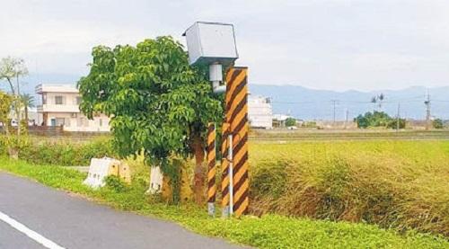 台湾现佛系测速器 根本拍不到超速车辆