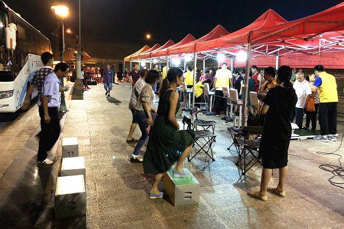 """""""体彩杯""""广东国民体质监测万里行走进阳江"""