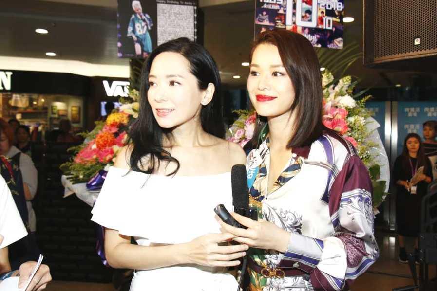 郭羡妮表示希望胡杏儿签她做艺人