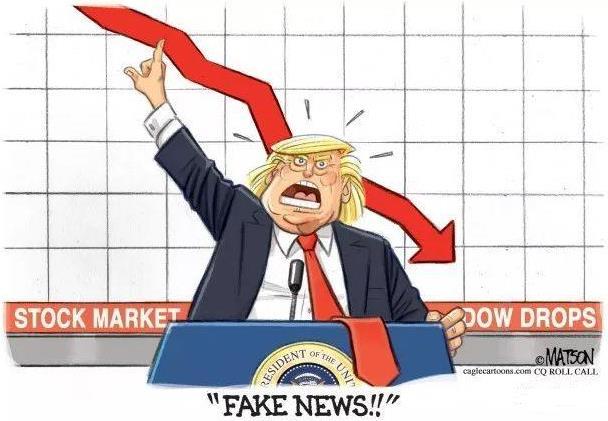 特朗普不要脸至极 美股大跌黄金大涨