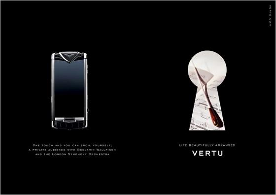 顶级奢侈手机品牌VERTU将发布售价超过两百万手机