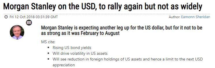 美元或再次上涨,但幅度料不及2-8月
