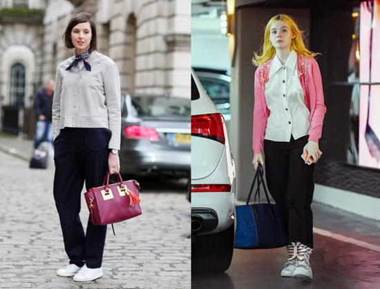 欧美达人服装流行趋势示范 针织开衫你必不可少