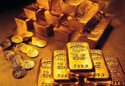 全球股市再度陷入跌势 黄金温和反弹至1226美元水平附近