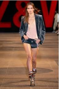 法国时尚品牌Zadig & Voltaire 2019春夏系列发布会