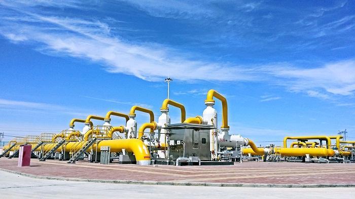 中亚天然气管道A/B/C三线累计进口天然气2358.9亿标方