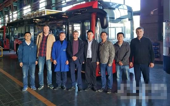 首批搭载潍柴WP7天然气动力公交车进入鞑靼斯坦共和国
