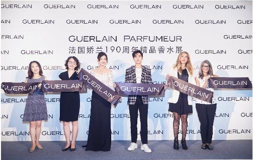 法国娇兰携品牌代言人杨洋隆重揭幕杭州首家精品香水概念店