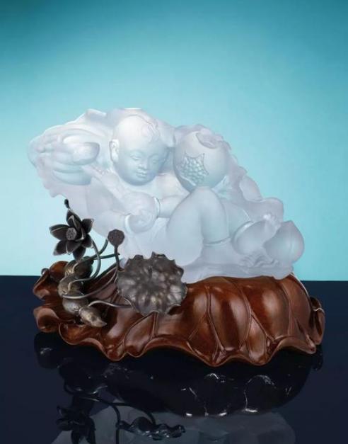 珠宝艺术家陈世英—水晶雕像作品亮相佳士得秋拍