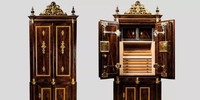 雪茄保湿柜子售价8万美元 约合人民币56万 围观看看这是怎样的奇物