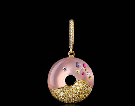"Bao Bao Wan Fine Jewelry手工镶嵌宝石""甜品系列""拥着一份不会融化的甜蜜"